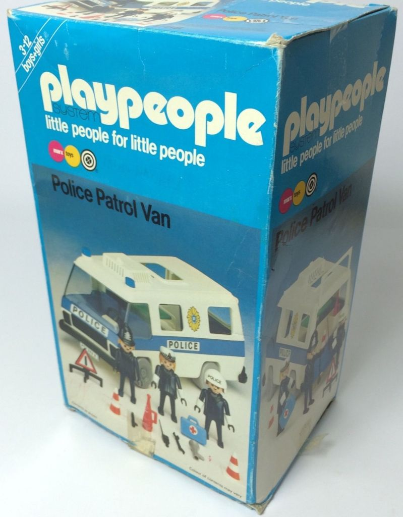 Playmobil 1758-pla - Police Patrol Van - Box