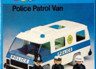 Playmobil - 1758-pla - Police Patrol Van