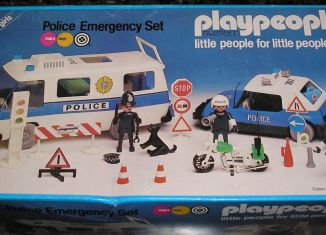 Playmobil - 1758/1-pla - Police Emergency Set