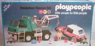 Playmobil - 1759-pla - Breakdown Rescue Set