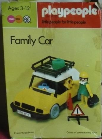 Playmobil Set 1786 Pla Family Car Klickypedia