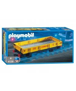 Playmobil 4126 - Niederbordwagen - Box