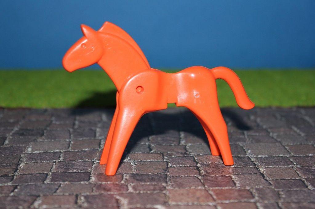 Playmobil 0000 - SIEMENS horse - Back