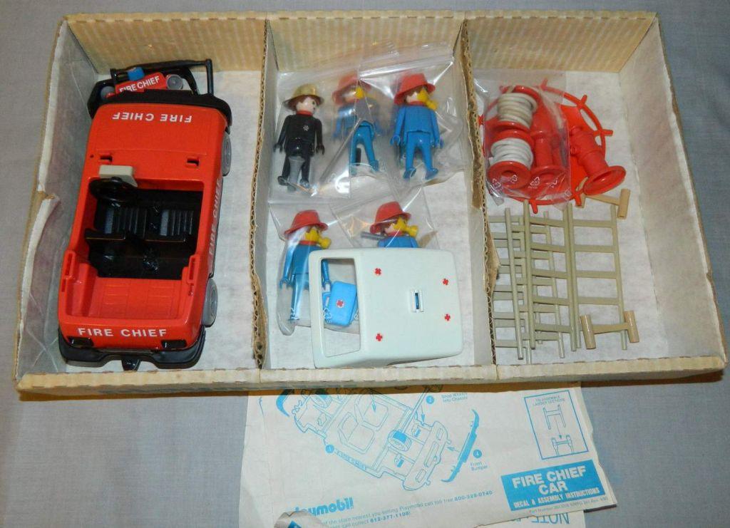 Playmobil 1403-sch - Fireman Special Deluxe Set - Back