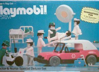 Playmobil - 1803-sch - Doctor & Nurse Special Deluxe Set