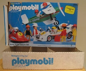 Playmobil 2004-sch - Racer Super Deluxe Set - Box