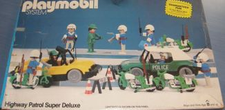Playmobil - 49-59976v1-sch - Highway Patrol Super Deluxe