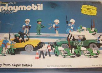 Playmobil - 49-59976v1-sch - Highway Patrol Super Deluxe