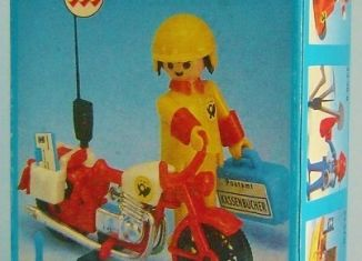 Playmobil - 23.73.4-trol - Postman motorcyclist