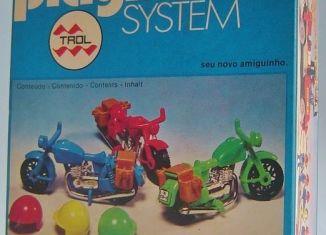 Playmobil - 23.20.8-trol - 3 motorbikes