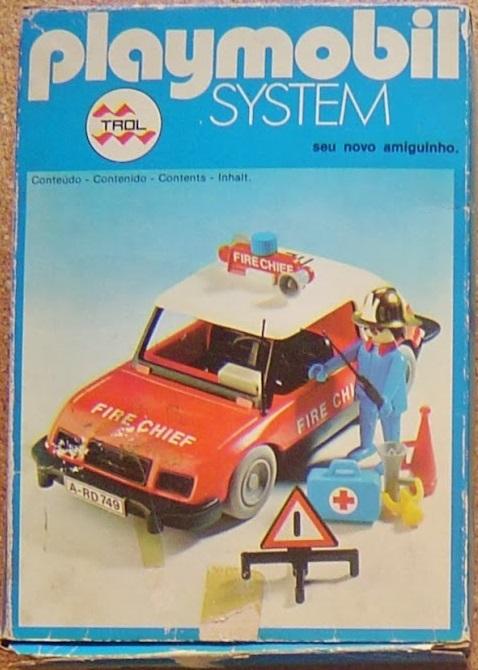 Playmobil 23.21.6-trol - Carro Bombeiro - Caja