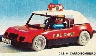 Playmobil - 23.21.6-trol - Carro Bombeiro