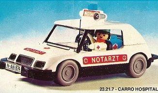 Playmobil - 23.21.7-trol - Health car