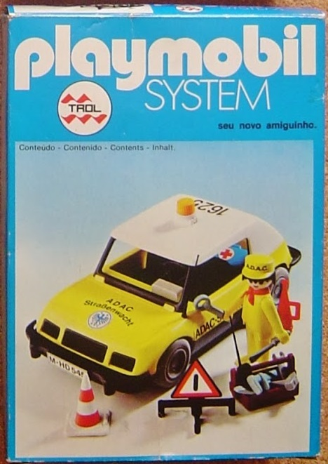Playmobil 23.21.9-trol - ADAC car - Box