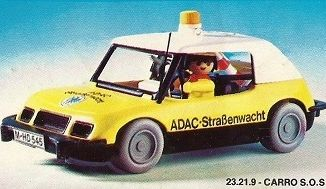 Playmobil - 23.21.9-trol - ADAC car