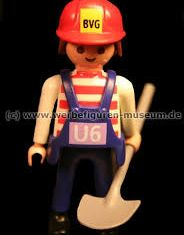 Playmobil - 00000-ger - Maitenance Employee (U6, 2004)