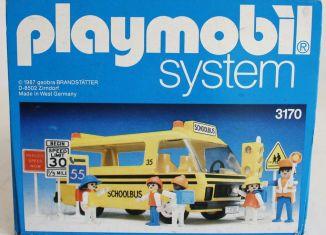 Playmobil - 3170s1v1-usa - Schoolbus