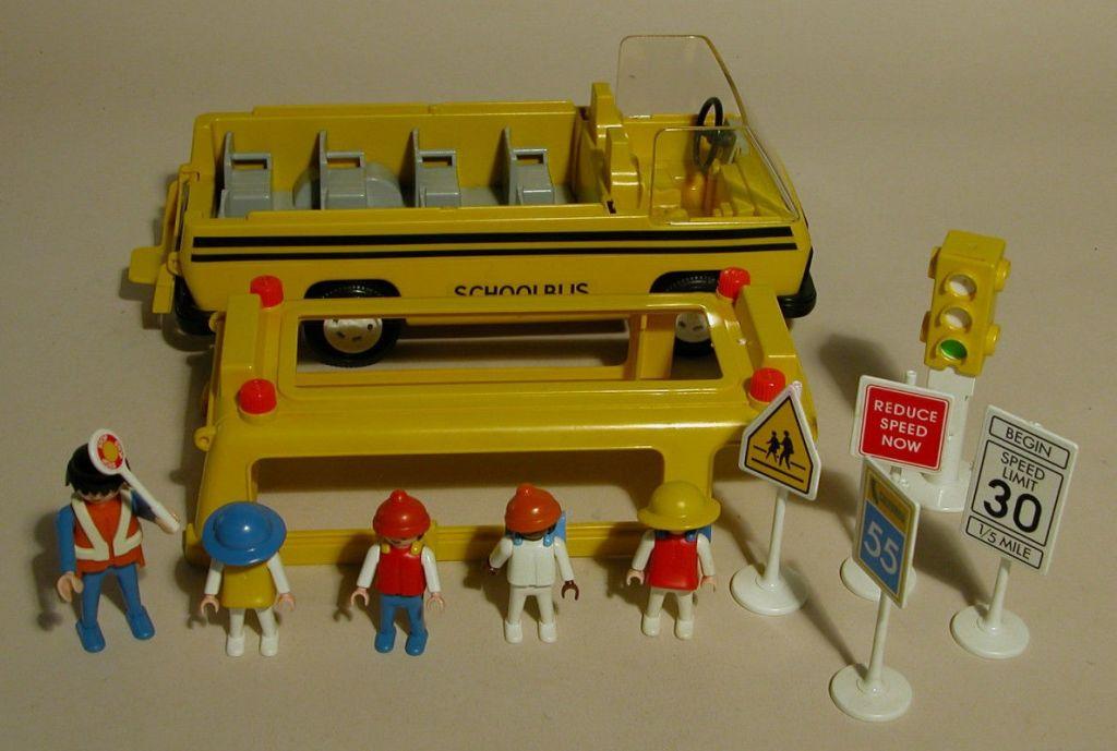 Playmobil 3170s1v1-usa - Schoolbus - Back