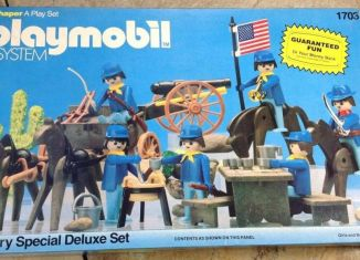 Playmobil - 1703-sch - Cavalry Special Deluxe Set