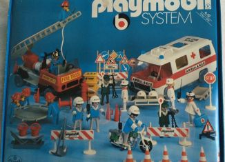 Playmobil - 9950-ger - Rescue Super Set