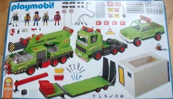 Playmobil 4084 - Mega Construction Set - Back