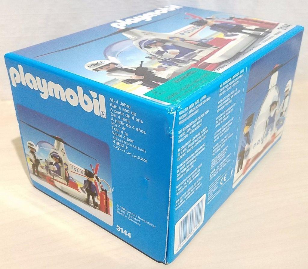 Playmobil 3144-usa - Police helicopter - Box