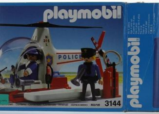 Playmobil - 3144-usa - Police helicopter