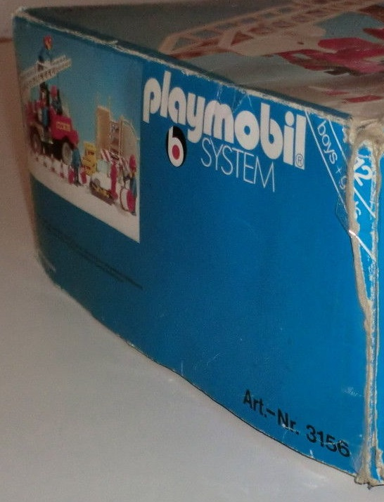 Playmobil 3156s1 - Fire Truck with Firemen - Box