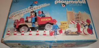 Playmobil - 3156s1 - Fire Truck with Firemen