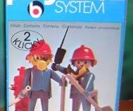 Playmobil - 3162s1 - 2 Firefighters