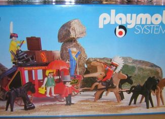 Playmobil - 3175s1v1 - Stagecoach Ambush
