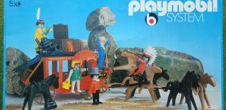 Playmobil - 3175s1v2 - Stagecoach Ambush