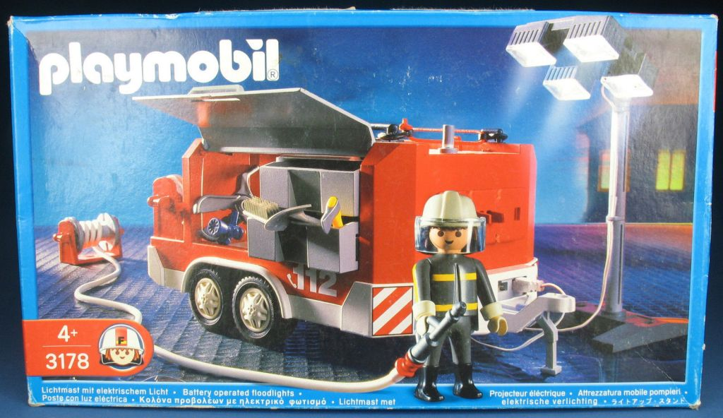 Playmobil 3178s2 - Fire Support Vehicle - Box