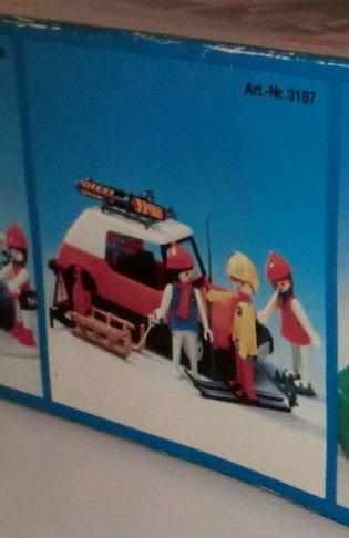 Playmobil 3187s1v2 - Winter Ski Trip - Box