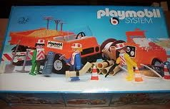 Playmobil - 3192s1v1 - Road Workers with Truck