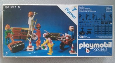 Playmobil 3200s1 - Construction Site - Box