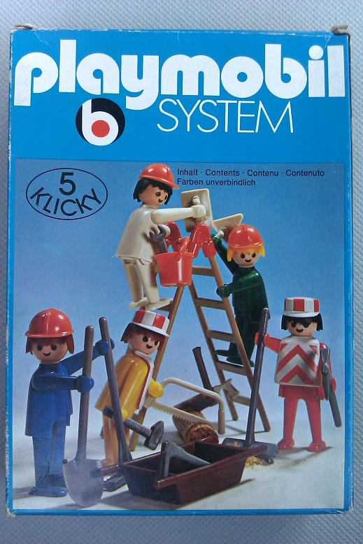 Playmobil 3201v2 - Construction Set - Box