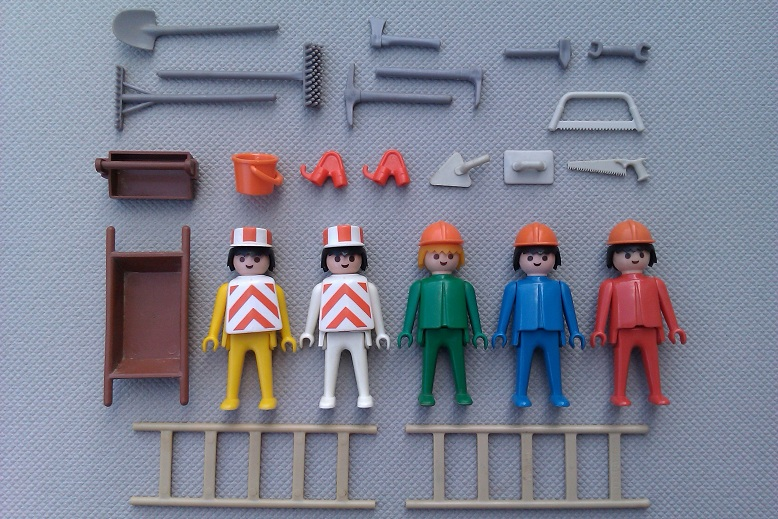 Playmobil 3201v2 - Construction Set - Back