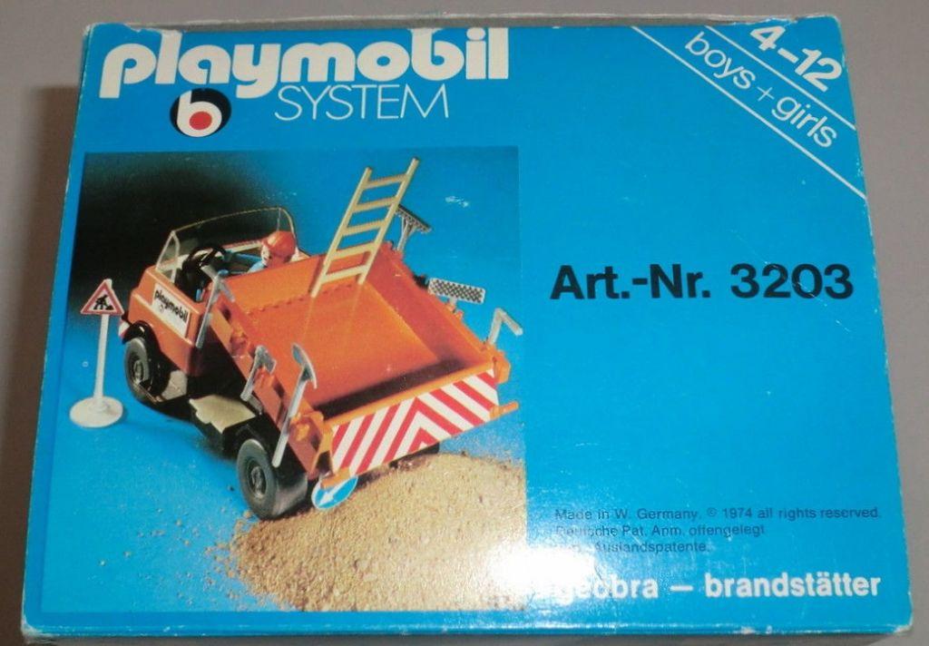 Playmobil 3203s1v2 - Construction Truck - Box
