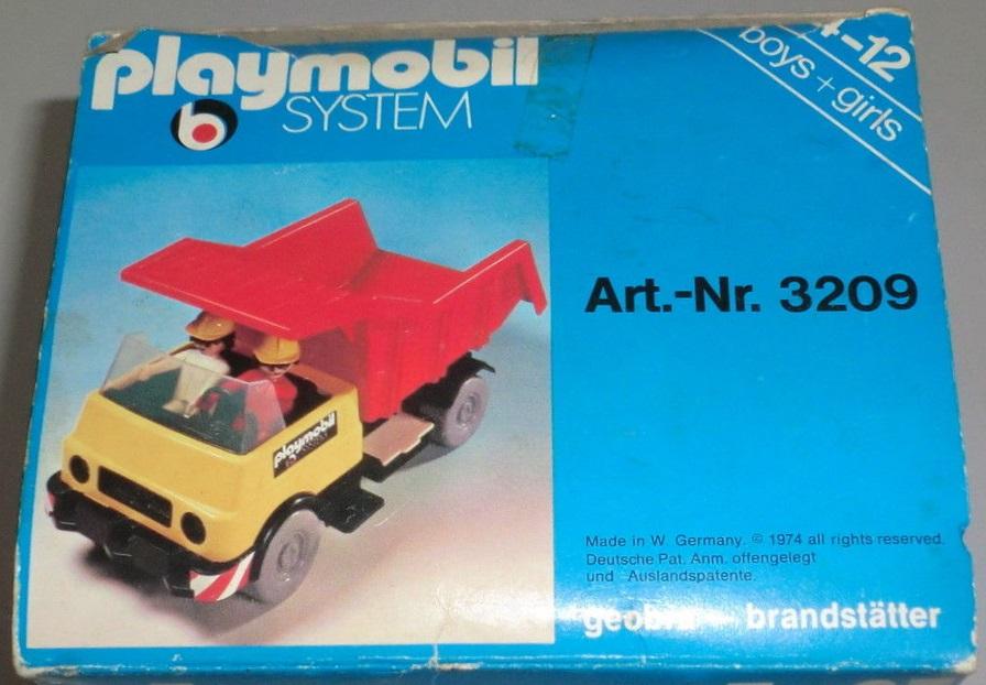 Playmobil 3209s1 - Dump Truck - Back