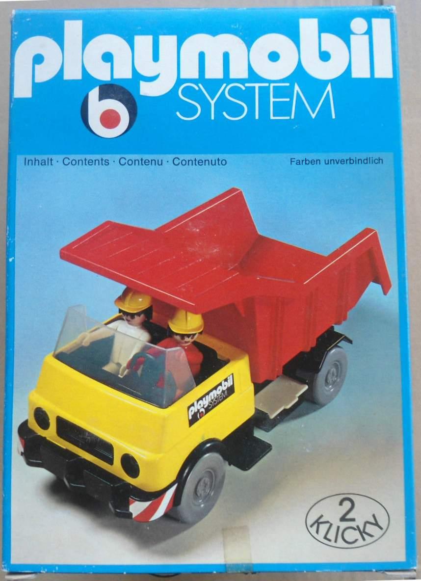 Playmobil 3209s1 - Dump Truck - Box