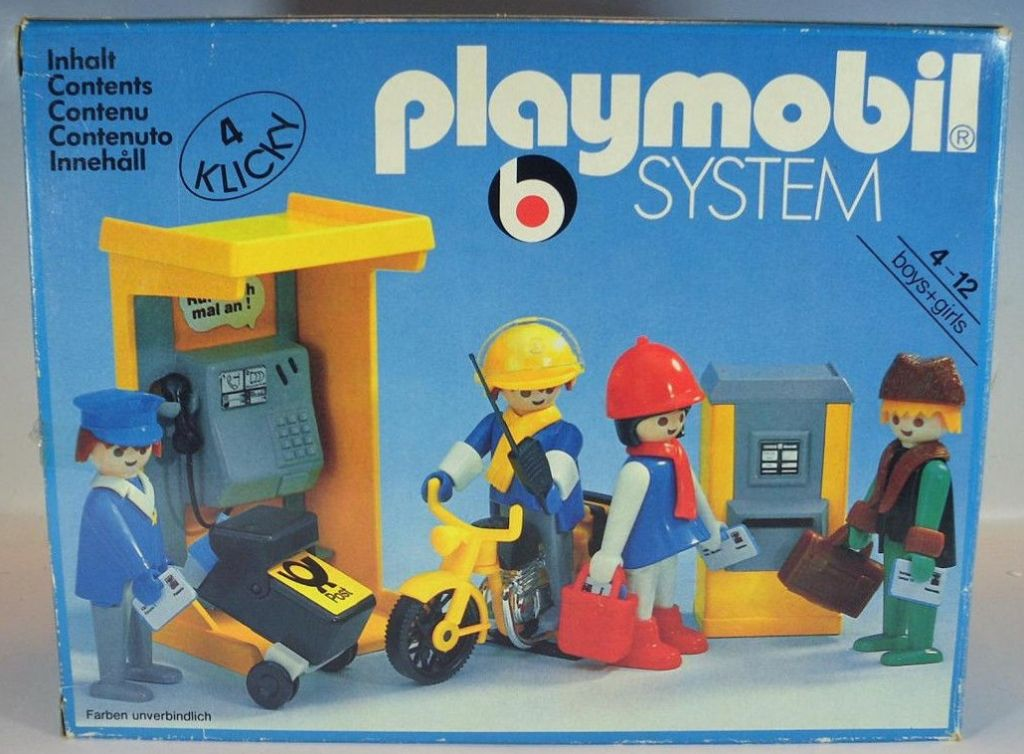 Playmobil 3231v1 - Post office - Box