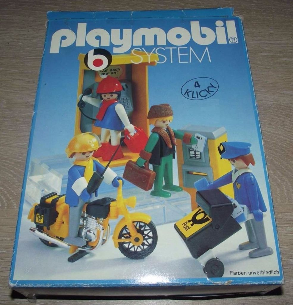 Playmobil set 3231v1 post office klickypedia for Playmobil post