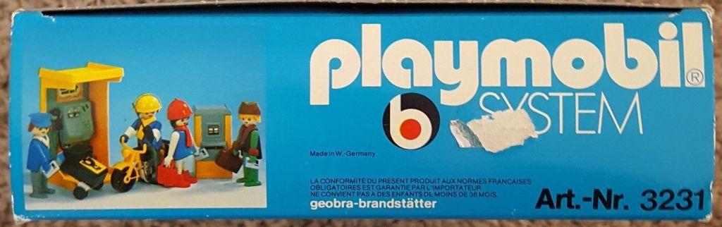 Playmobil 3231v2 - Post office - Back