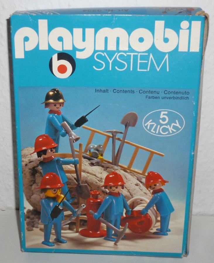 Playmobil 3234s1 - Feuerwehrmänner - Box