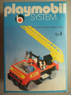 Playmobil 3236s1v3 - Fire truck - Box