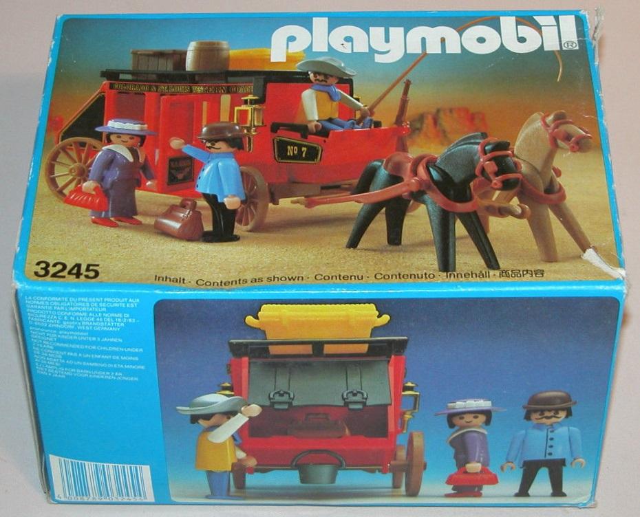 Playmobil 3245v2 - Wild West stagecoach - Box