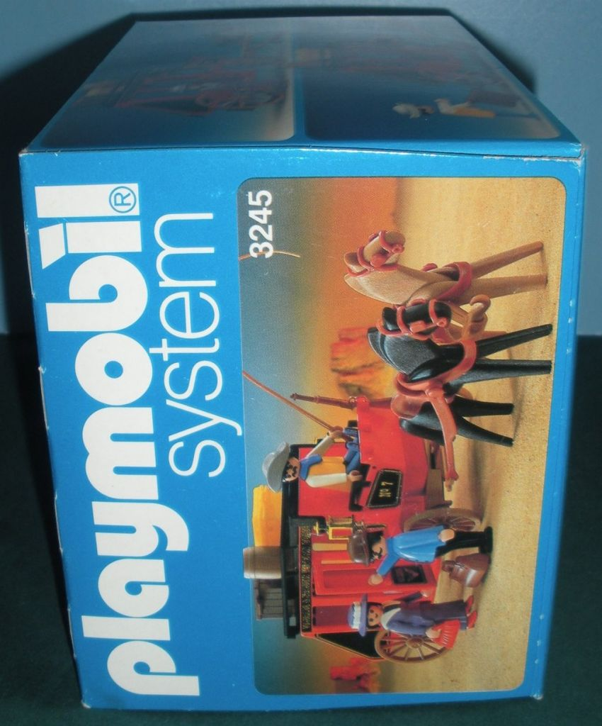 Playmobil 3245v2 - Wild West stagecoach - Back