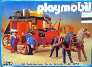 Playmobil - 3245v2 - Wild West stagecoach