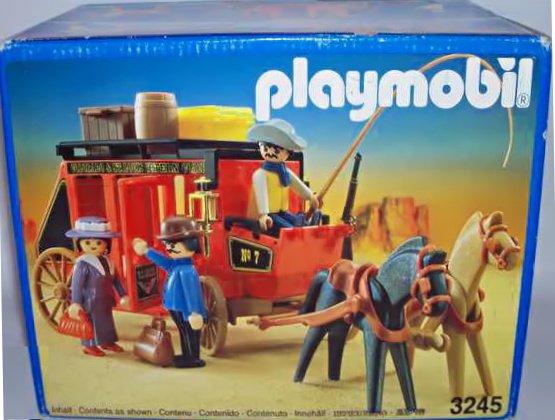 Playmobil 3245v3 - Wild West Stagecoach - Box